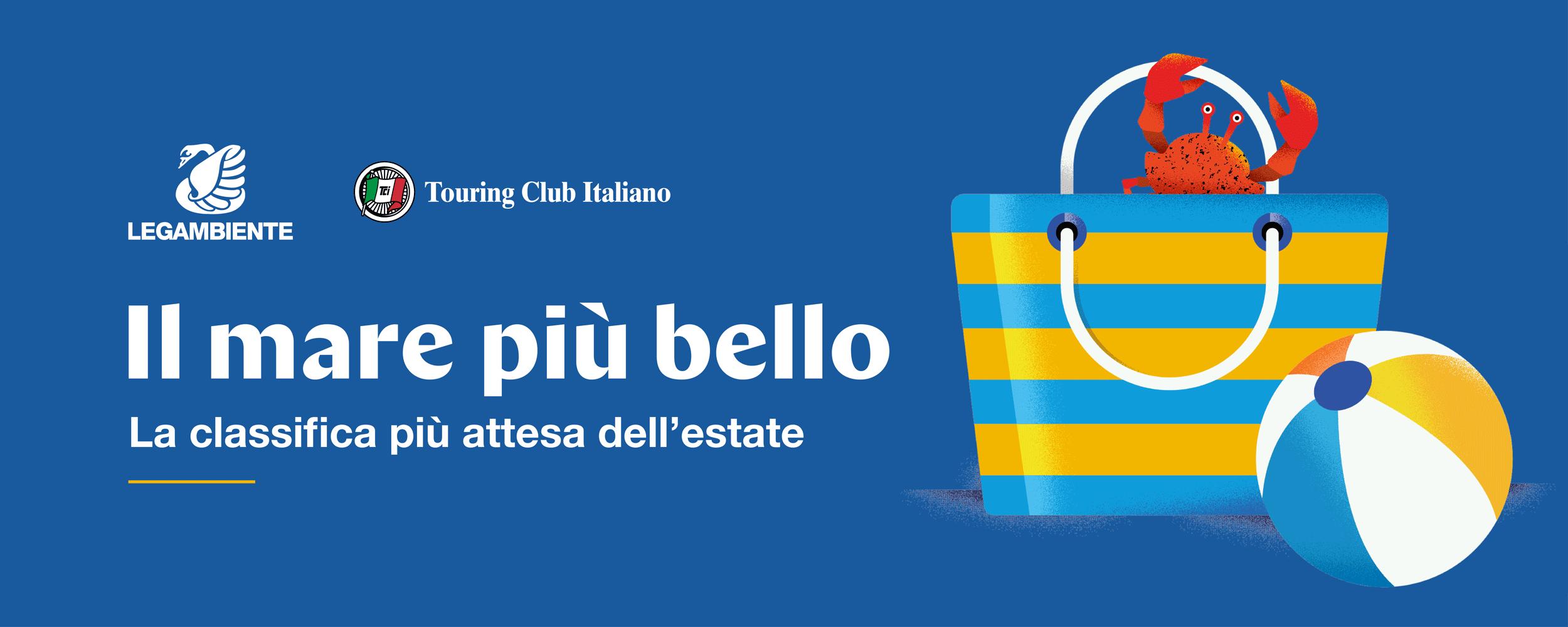 """""""Il mare più bello"""", la Guida Blu di Legambiente e Toring Club Italiano"""