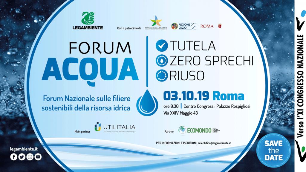 Forum Acqua - save the date